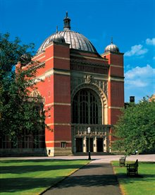 Photo of Aston Webb on a sunny day