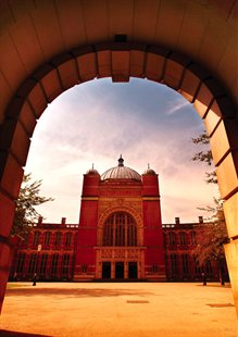 Aston Webb entrance through the clock tower