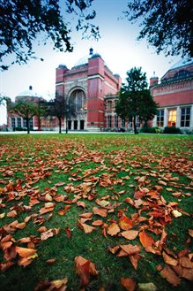 Aston Webb in autumn
