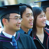 International students graduation