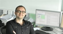 Postgraduate researcher at computer