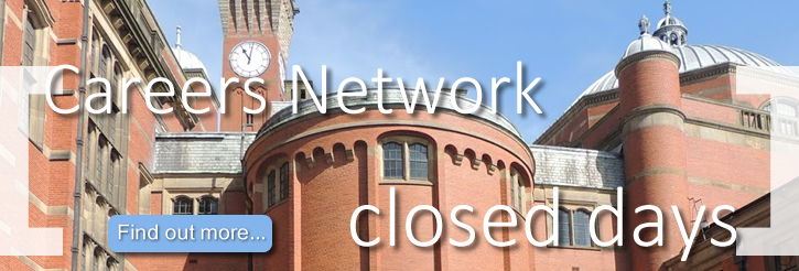 Careers Network Closed Days