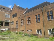 SFH from the side, the original Chaplaincy building