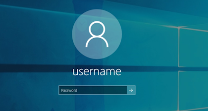 Login-closeup screenshot