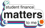 'Student Finance Matters' badge created by Student Finance England