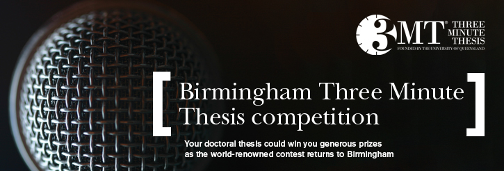 Birmingham Three Minute Thesis Competition
