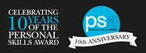 Celebrating 10 years of the Personal Skills Award