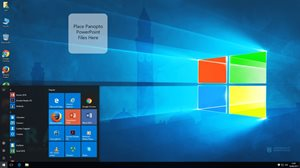 Lectern desktop start menu