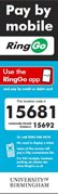 RingGo - UoB Example Sticker