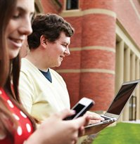 Learning and research made easier with mobile IT services on campus