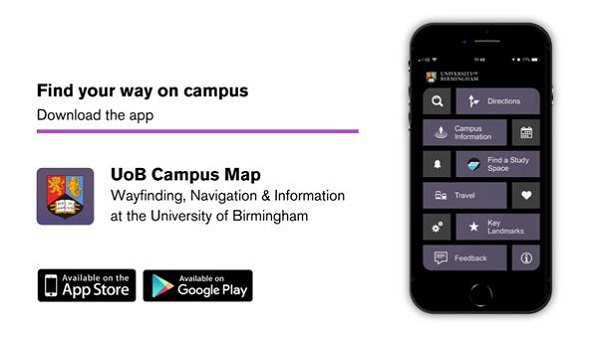 New 'UoB Campus Map' app launched Campus Map App on