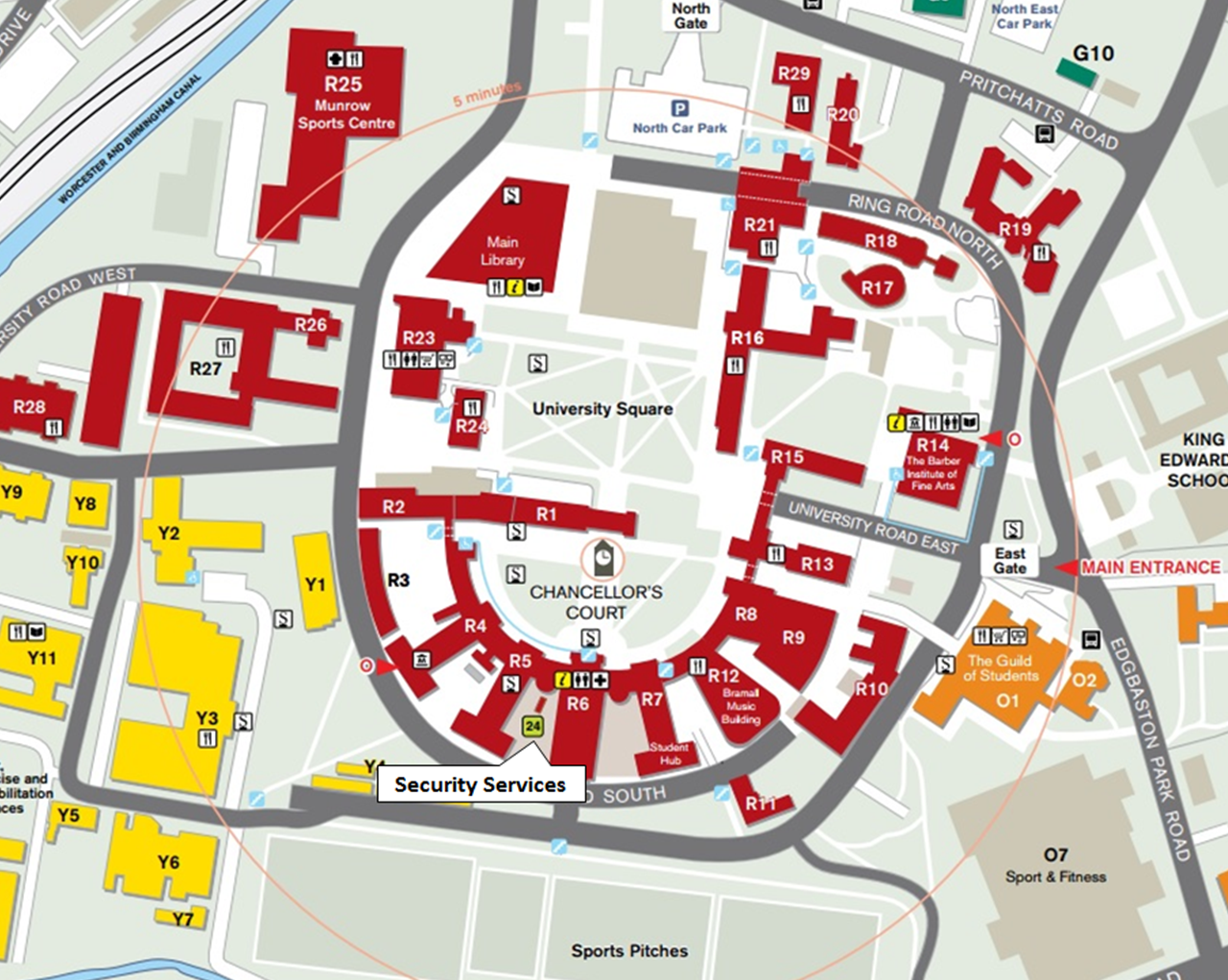 campus map for website